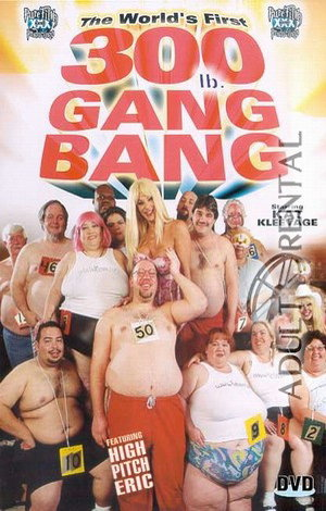 The World's First 3000 lbs. Gang Bang Porn Video Art