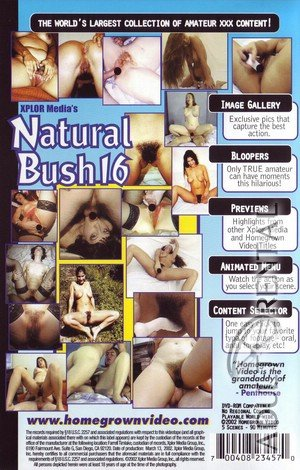 Natural Bush 16 Porn Video Art