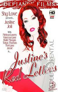 Justines Red Letters | Adult Rental