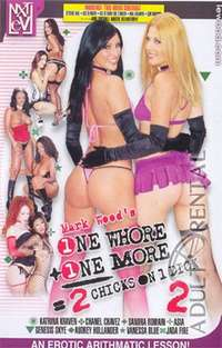 1 Whore + 1 More = 2 Chicks on 1 Dick 2 | Adult Rental