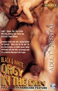 Black And White Orgy In The Den | Adult Rental