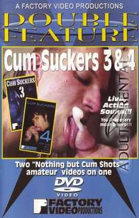 Cum Suckers 3 & 4: Double Feature | Adult Rental