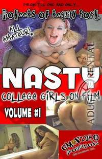 Nasty College Girls On Film Volume #1 | Adult Rental