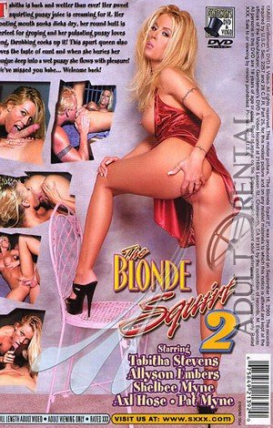 The Blonde Squirt 2 Porn Video Art