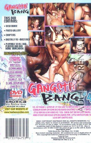 Gangsta' Bang #4 Porn Video Art