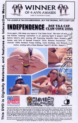 Independence Day T&A Cat Claw Cove 2005 Porn Video Art