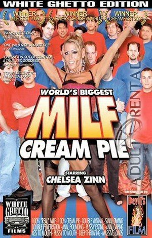 World's Biggest MILF Cream Pie Porn Video Art