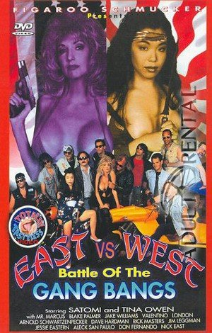East vs. West: Battle Of The Gang Bangs Porn Video Art