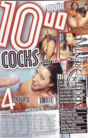 "10"" Cocks Porn Video Art"