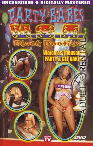 Party Babes USA: Black Booties Porn Video