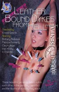 Leather Bound Dykes From Hell 14 | Adult Rental