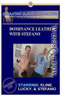 Dominance Leather With Stefano | Adult Rental