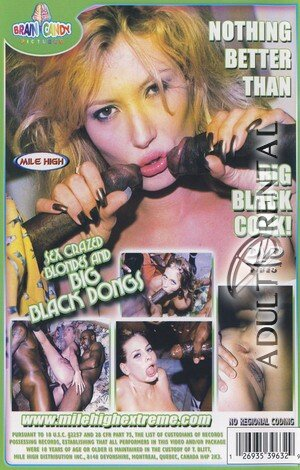 Sex Crazed Blondes And Big Black Dongs Porn Video Art