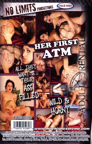 Her First ATM Porn Video Art