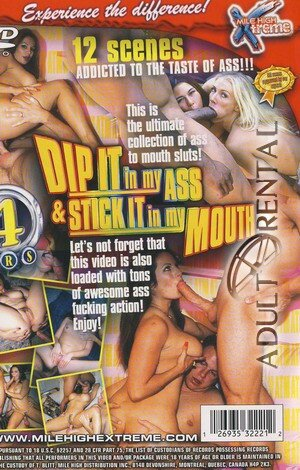 Dip It In My Ass & Stick It In My Mouth Porn Video Art