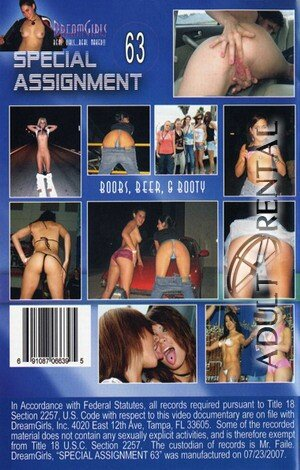 Special Assignment 63 Porn Video Art