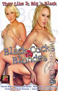 Black Cocks In Blondes | Adult Rental