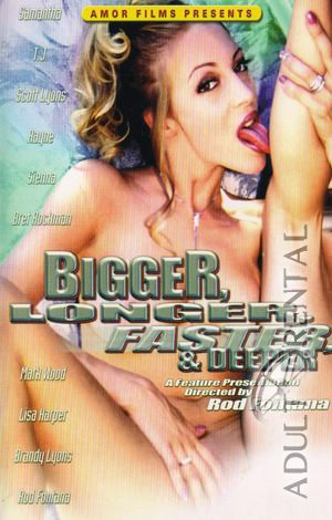 Bigger Longer Faster & Deeper Porn Video Art