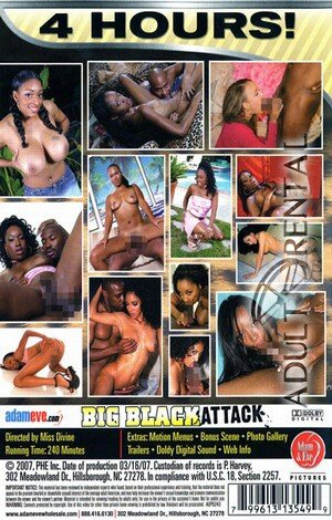 Big Black Attack Porn Video Art