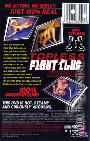 Topless Fight Club Conquers Porn Video Art