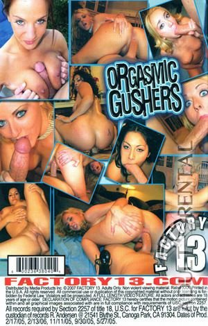 Orgasmic Gushers Porn Video Art