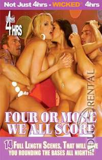 Four Or More We All Score | Adult Rental