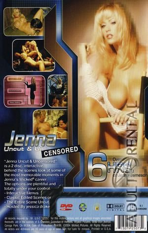 Jenna Uncut & Uncensored: Disc 2 Porn Video Art