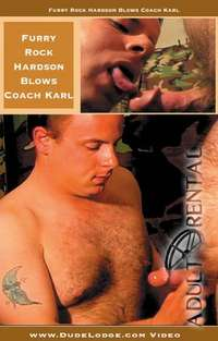 Furry Rock Hardson Blows Coach Karl | Adult Rental