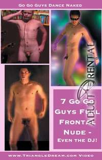 Primal Man GoGo Guys Full Frontal | Adult Rental