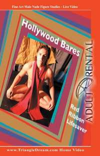 Hollywood Bares Red Ribbon | Adult Rental