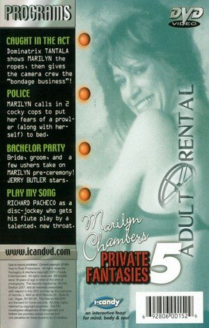 Marilyn Chambers Private Fantasies 5 Porn Video Art