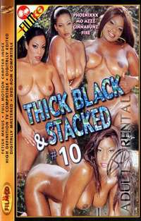 Thick Black & Stacked 10 | Adult Rental