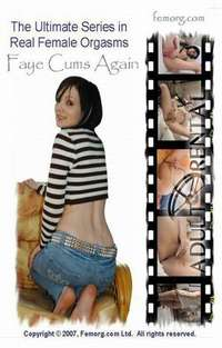 Faye Cums Again | Adult Rental
