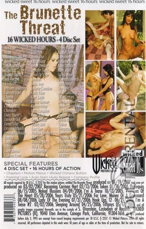 The Brunette Threat: Disc 1 Porn Video Art