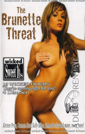 The Brunette Threat: Disc 2 Porn Video Art