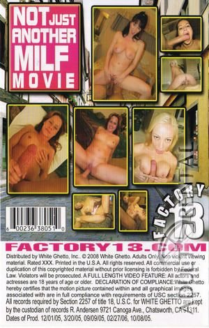 Not Just Another MILF Movie Porn Video Art