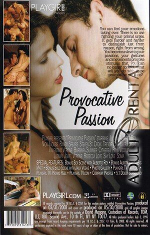 Provocative Passion Porn Video Art