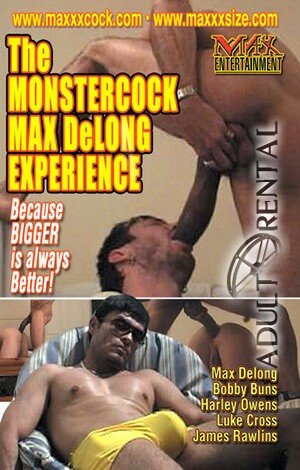 The Monstercock Max Delong Experience Porn Video Art