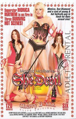 Monica Mayhem Is The She Devil Porn Video Art