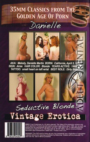 Danielle: Seductive Blonde Porn Video Art