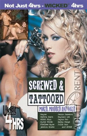 Screwed & Tattooed Porn Video Art