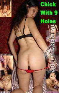 Chick With Nine Holes | Adult Rental