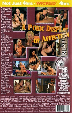 A Pubic Display Of Affection Porn Video Art