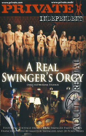 A Real Swinger's Orgy Porn Video Art