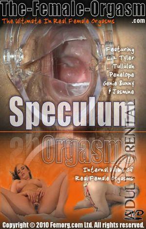 Speculum female orgasm video #2