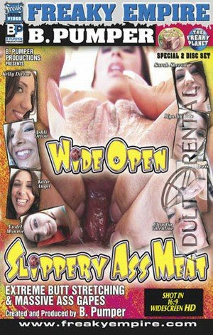 Wide Open Slippery Ass Meat: Disc 1 Porn Video Art