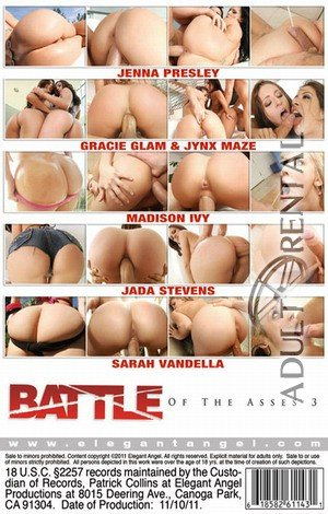 Battle Of The Asses 3 Porn Video Art