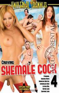 Craving Shemale Cock 4 | Adult Rental