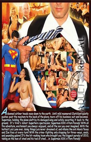 Superman XXX: A Porn Parody Porn Video Art