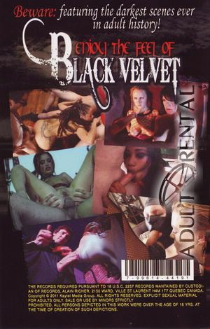 Black Velvet Porn Video Art
